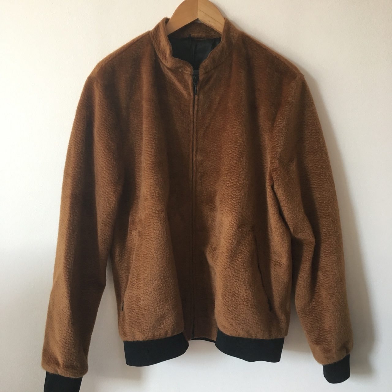 TOPMAN FAUX SHEARLING COAT VARIOUS SIZES BNWOT