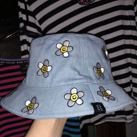 7a02e891339 Daisy bucket hat from Lazy Oaf! This is absolutely darling! - Depop