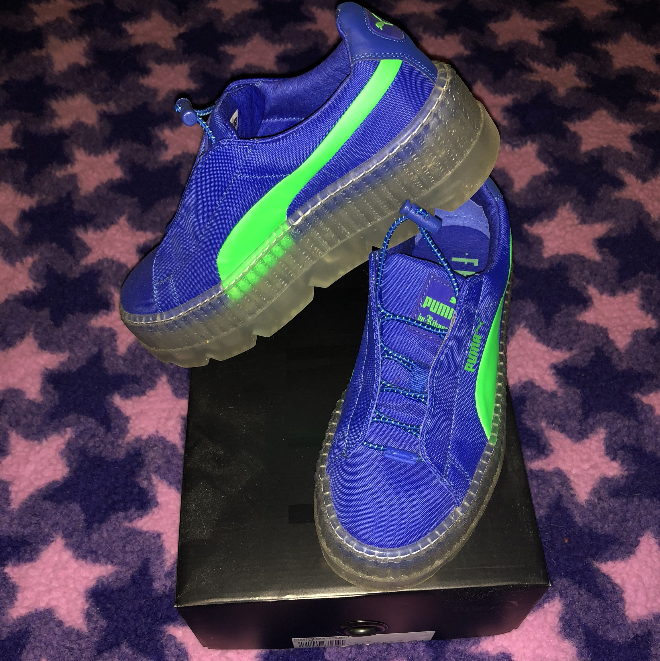 huge selection of dd3e9 7fead 💫FENTY PUMA BLUE/GREEN SURF CREEPER. 💫Rihanna x... - Depop
