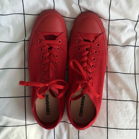 89c3f71c61da Converse All Star Low - Casino Red Mono