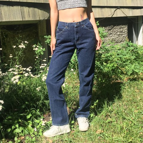 fd5ee078e06f @emilyheavenly. in 15 hours. Seattle, United States. Vintage unisex high-waisted  dark wash Lee jeans. Perfect condition ...