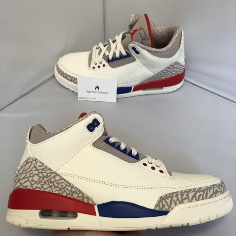 7611695ca1f3 Nike Air Jordan 3  International Flight  - UK 9 - Brand new - Depop