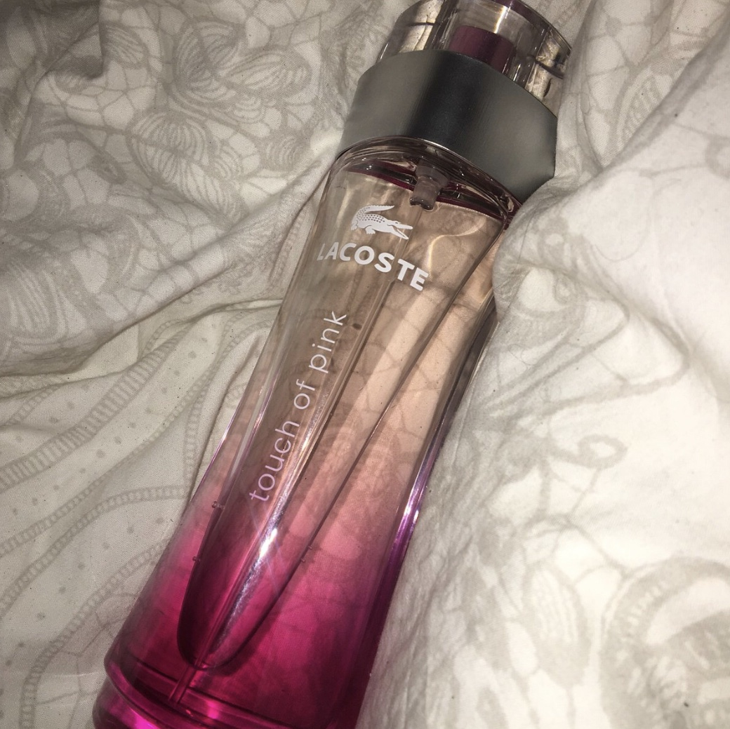cute cheap wholesale outlet outlet Lacoste perfume 💕 Touch of love 90ml Purchased for... - Depop