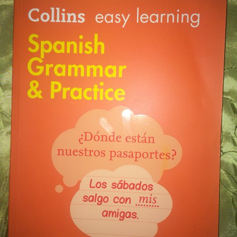 Collins easy learning Spanish grammar and practice    - Depop