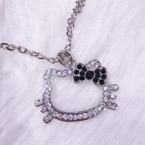 903c2365f @cinlali. last month. Pennington, United States. Hello kitty Sanrio necklace
