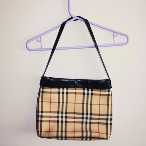 Authentic Burberry nova check handbag • good condition • and - Depop 2ce880aace940