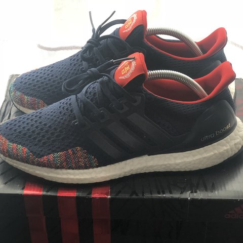 b07910f0e40a3 Ultra boost 1.0 CNY Come with og box Used condition 9 10 - Depop