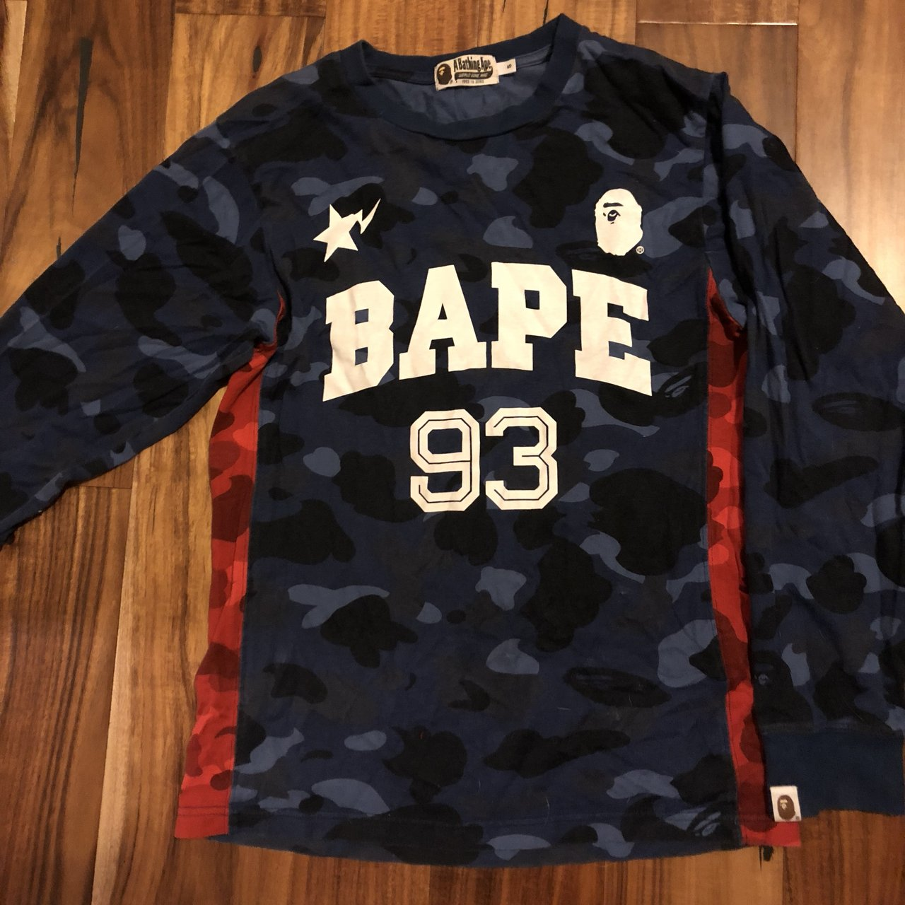 fe3946c1 RARE BAPE PINK CAMO HOODIE 100% Authentic and completely M - Depop