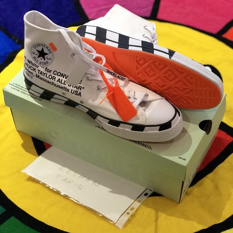 68bbd5690a2 Off White x Converse Chuck Taylor 70 UK11 DSWT Lowest price - Depop