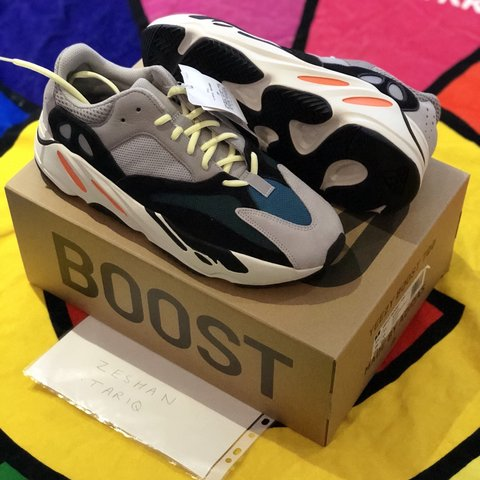 0bd9e3d0d322f Adidas Yeezy Boost 700 Waverunners DSWT UK11 Price London - Depop