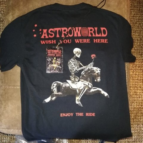 a1e2e4e979d4 @gnar_pawl. 5 months ago. Syracuse, United States. Travis Scott Astroworld  Tour Shirt Enjoy the Ride T And Season Pass (that ...
