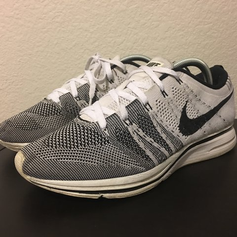 ed9aad89532f9d Nike Flyknit Trainer White Black 2012 OG Padded Version