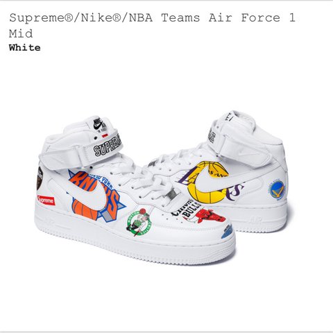 uk availability c7f98 e9a5a  juliansmith. last year. Bedford, United Kingdom. Supreme x NBA x Nike ...