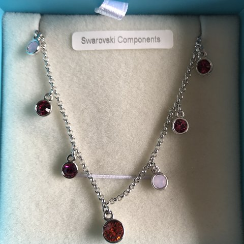 Attractive Necklace Multi Coloured Stones Never Worn Pins & Brooches