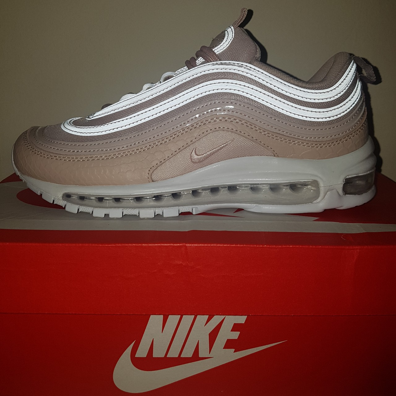 competitive price bc048 8b104 Air max 97 Silt Red UK5 Sold out everywhere grab a... - Depop