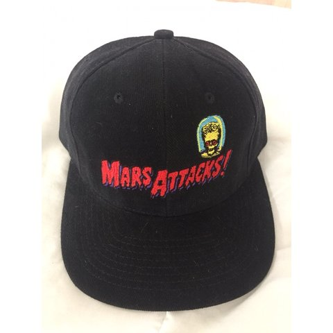 7e6236f198f95 Mars Attacks! Snapback hat in great condition. FREE Message - Depop
