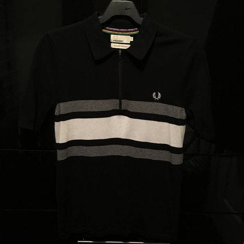 b27cbf874 FOR SALE. Fred perry bradley wiggins knitted zipped polo In - Depop