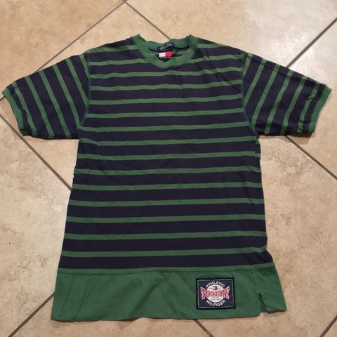 b2cb52d4 @peterjsandoval. 19 days ago. Las Vegas, United States. Vintage Tommy  Hilfiger T Shirt Men's Size Small (Youth ...