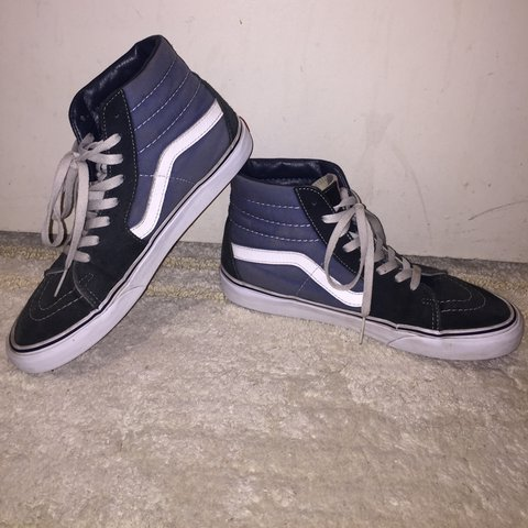 9e8b2a6d20 Sk8-Hi Vans (blue) Condition  8 10 (fading