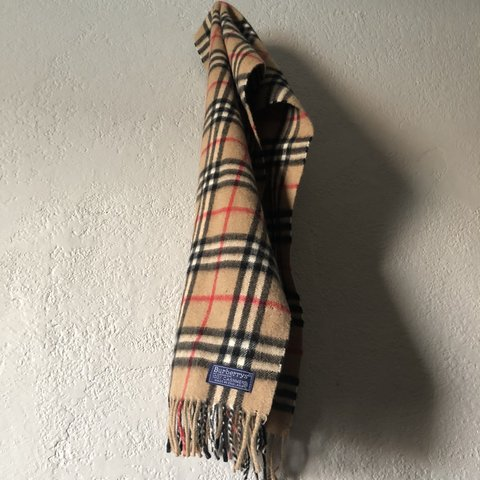 94265a009993 @angelcedillo. 6 months ago. Mesa, United States. Vintage Burberry 100% cashmere  scarf🧣 ...