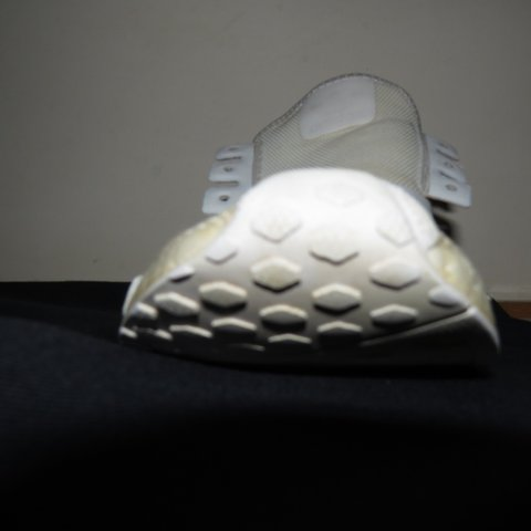 93aa50a43 Original Adidas NMDs. Tripple white. Worn a couple of times - Depop