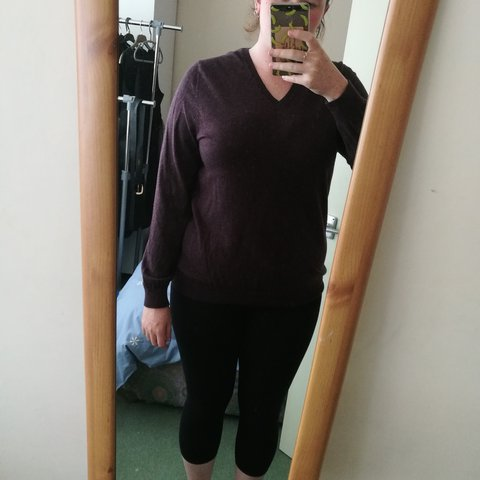 Marks And Spencer Autograph Merino Wool Mens Sweater To Depop