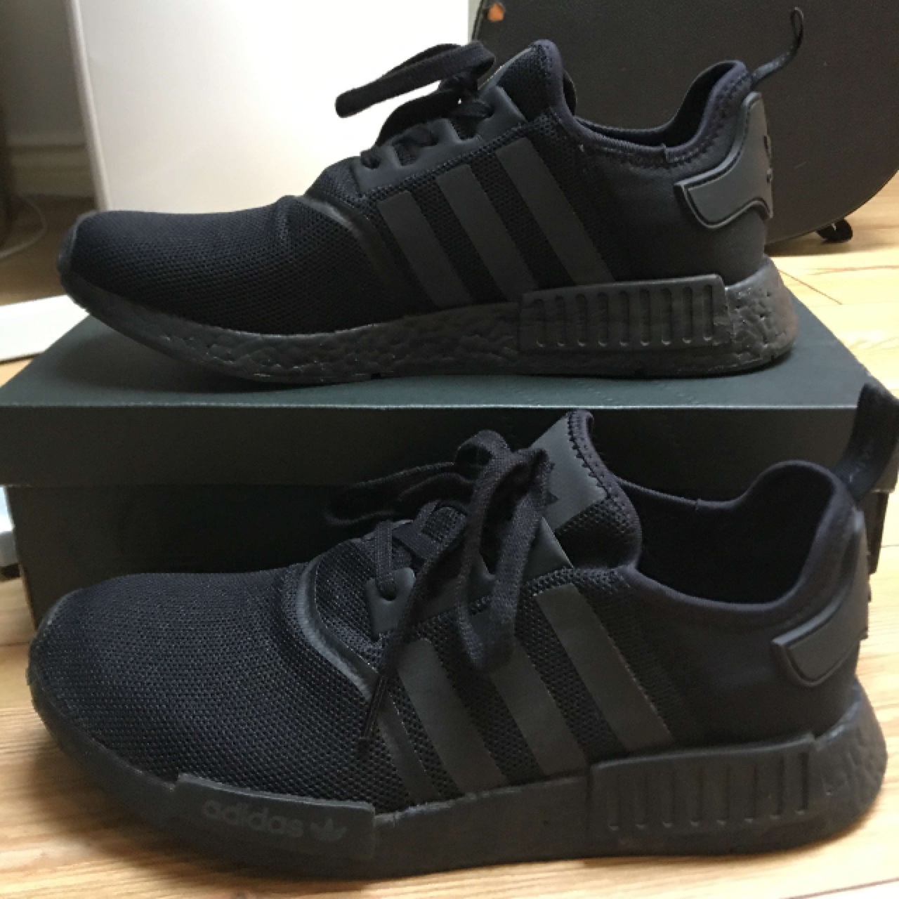 Brand new Adidas NMD Triple black. Bought from the Depop