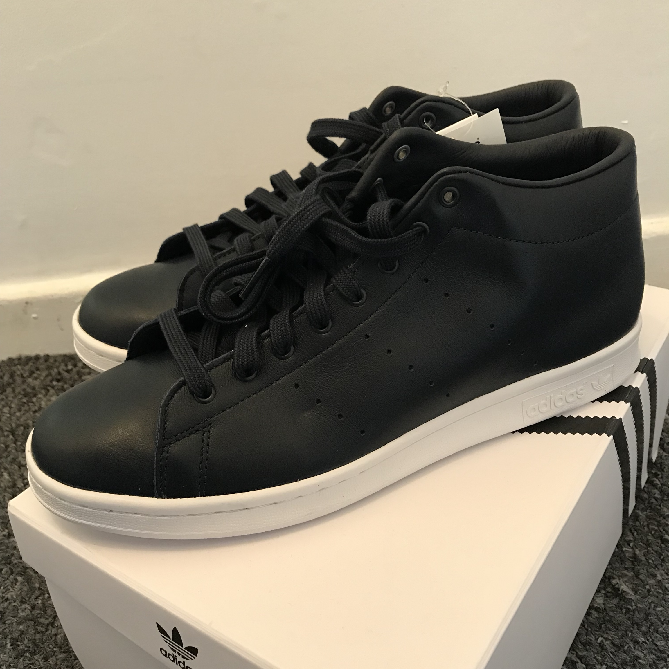 finest selection 4d2dc f3a56 Adidas x hyke aoh-001 hi Stan smith Trainers uk size... - Depop