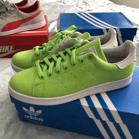 123da706a7b40 Adidas pharrell Stan smith trainers uk size 9 new in box No - Depop