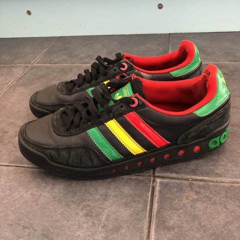 70bd7f8c23e Adidas pt trainer uk size 8. Trainers do have marks and and - Depop