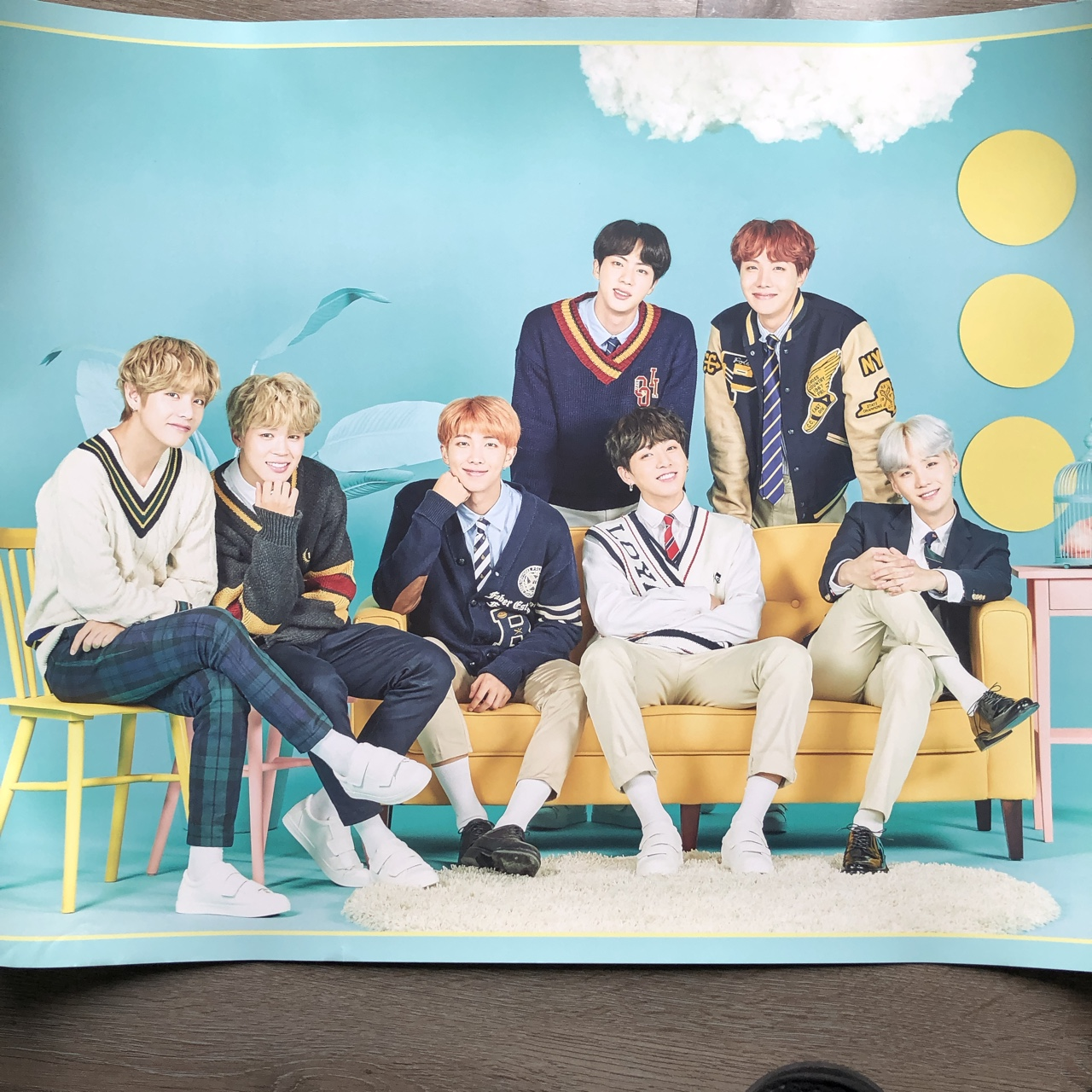 BTS 4th Muster in Japan Poster - Official Poster    - Depop