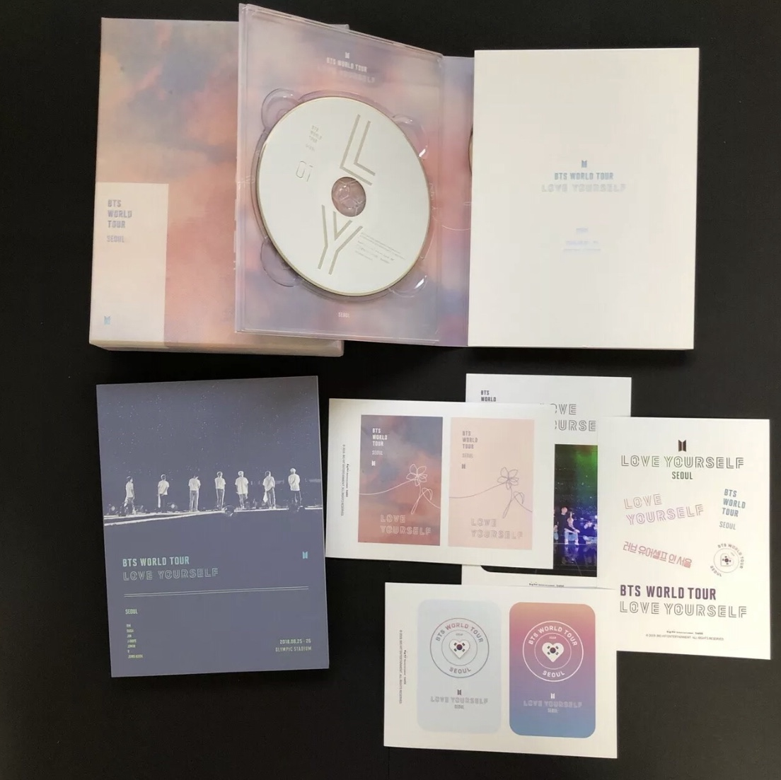 BTS Love Yourself Dvd In Seoul  Dvd Official    - Depop