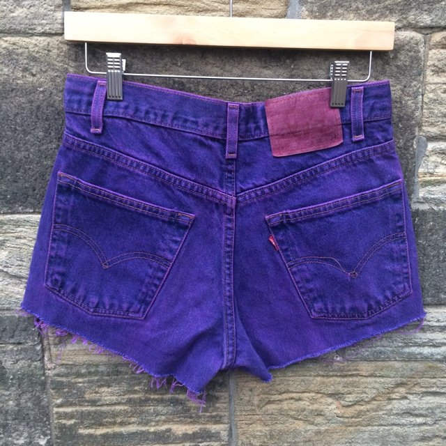 18aa8c2e @ravenvintage. 5 years ago. Sunderland, United Kingdom. Girls vintage Levi's  high waisted denim shorts. Size 10, waist ...