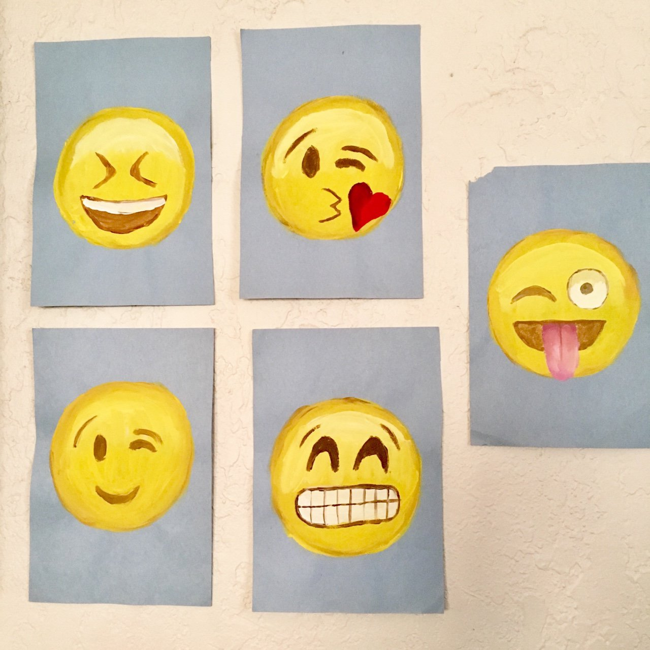 Famous Emoji Wall Decor Collection - Wall Art Collections ...