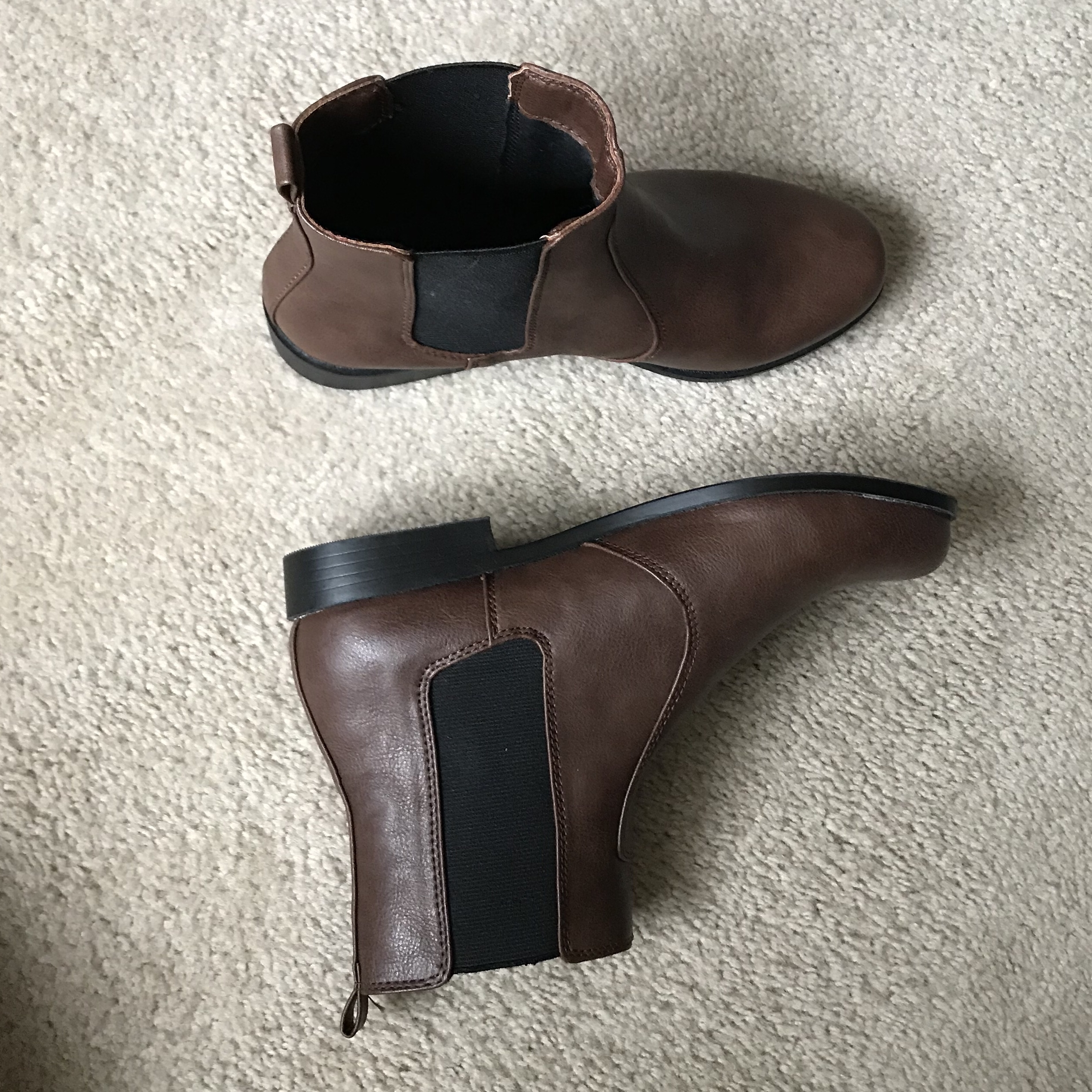 5c7d30ef06e H&M Chelsea boots - Size 8 in womens and 6 in mens... - Depop