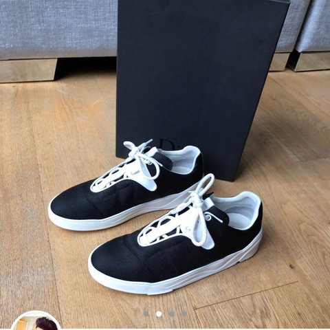 Mens Dior Runners in black and White