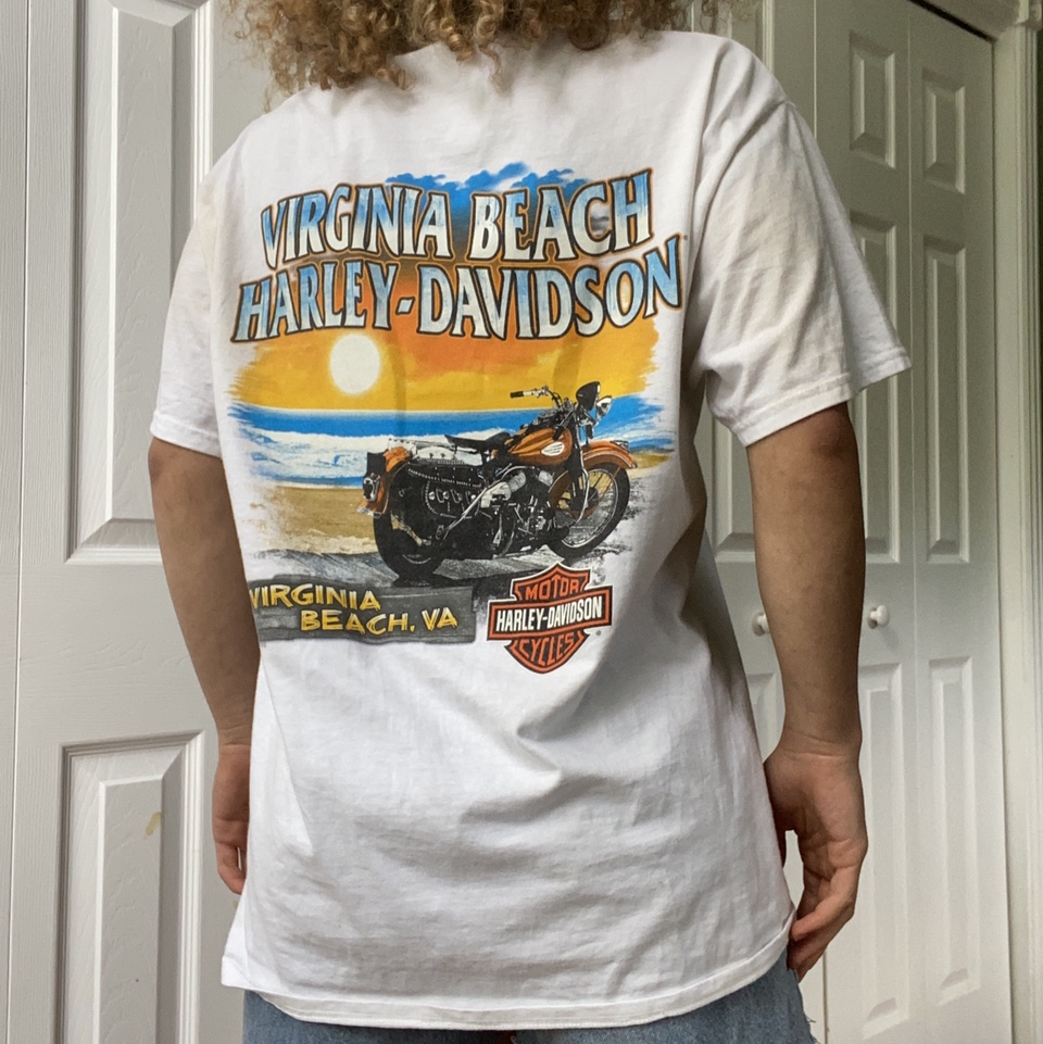 Harley Davidson Virginia Beach 2016 Eagle Shirt 🦅 SICK