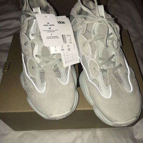 9cc7b7a924ef4 Adidas Yeezy 500 Salt UK 8 BRAND NEW WITH TAGS NEVER BEEN 7 - Depop