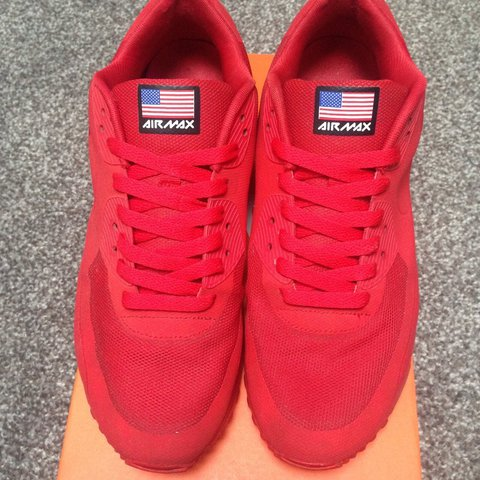 af21e681a14 Nike Air Max 90 Independence Day shoes in Red