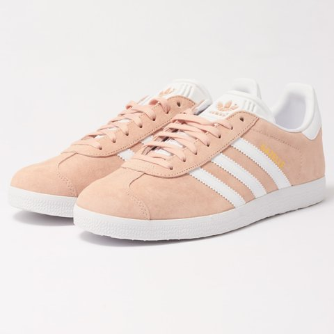 more photos bb503 b95fa RESERVED Light pink Adidas gazelle trainers- 0