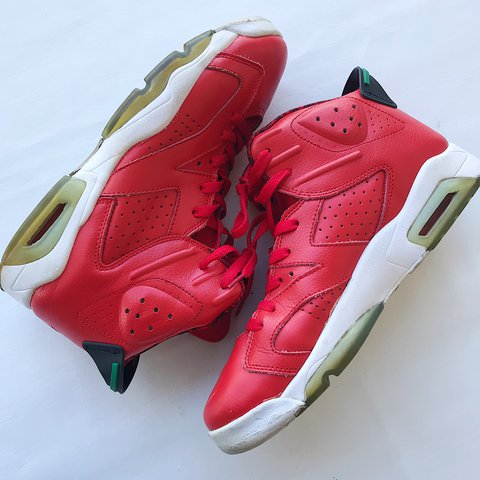 85abb26d52a Jordan 6 Spiz'ike History of Jordan Retro basketball Mens on - Depop