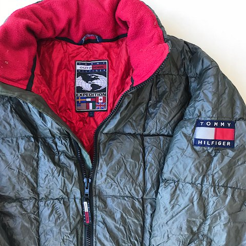 31ba45f95e7abc Vintage 90s Tommy Hilfiger Outdoors Expedition 3M Reflective - Depop