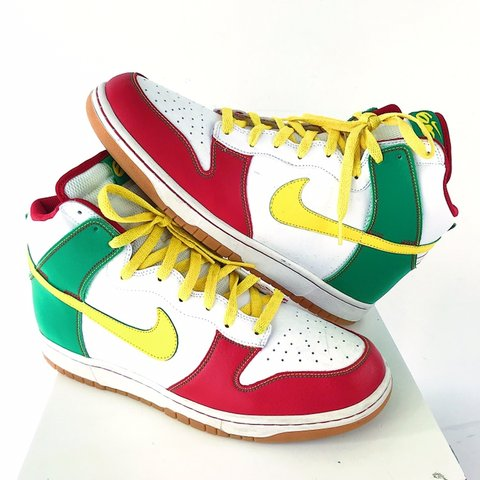 size 40 5604b 6f4ed thriftstorepunk. 27 days ago. Wilson, United States. Nike SB Dunk High AS  Rasta ...