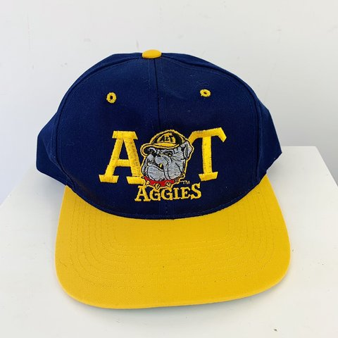 854ae97485d3a Vintage North Carolina A T university Aggies embroidered two - Depop
