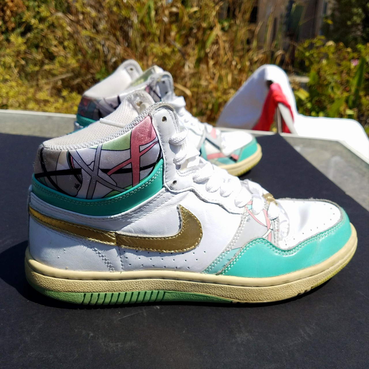 80s style Nike high-tops Good condition