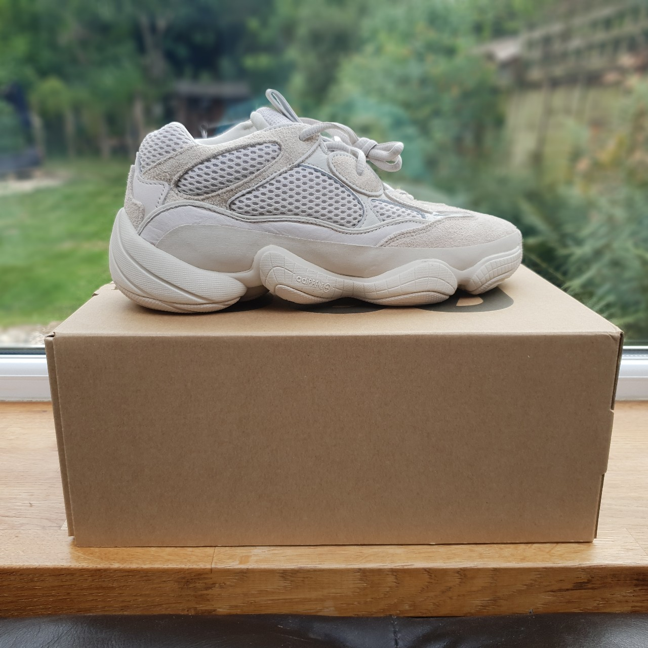 huge selection of 17f47 ccfc8 Adidas YEEZY 500 'Desert Rat' Blush - Size 7 UK /... - Depop