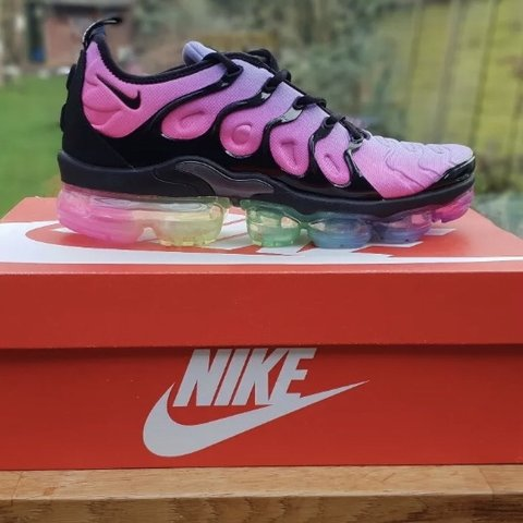 132d008dd6c Nike Air Vapormax Plus  Be True  - Sizes  3.5 UK   4 US 4.5 - Depop