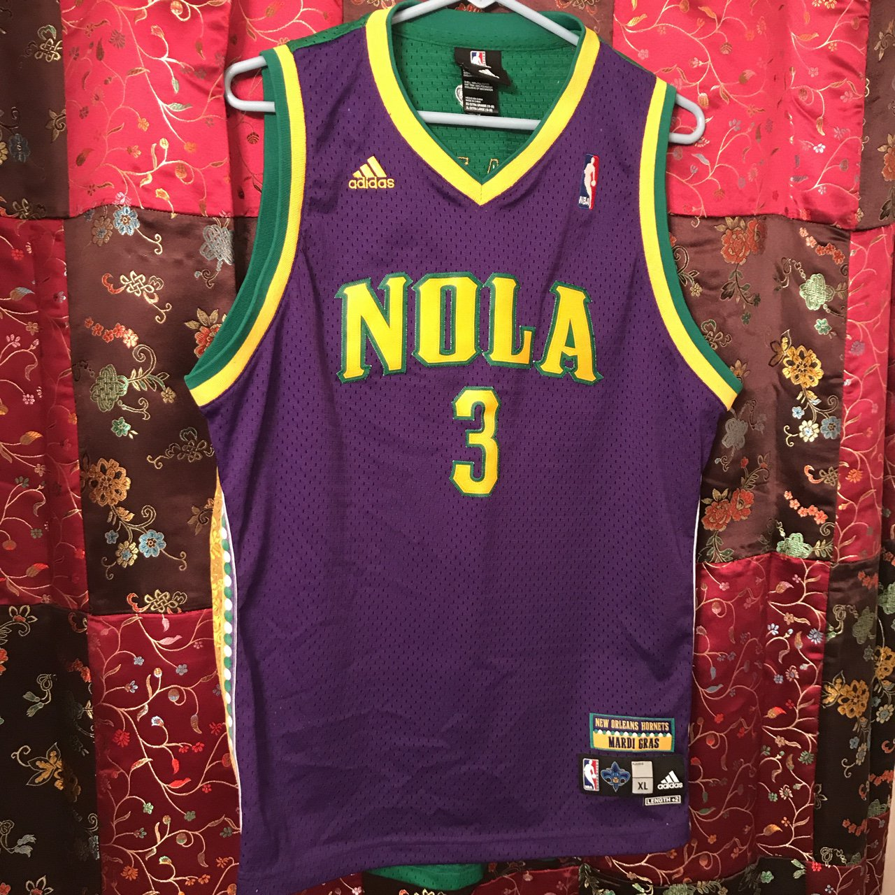RARE ITEM Adidas NBA Authentic Throwback Chris Paul Mardi a - Depop cd2c2c4a4