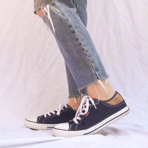 f6053e34187b Levi s converse style shoes! I ve never seen anything like a - Depop