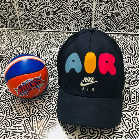 f43af5dfe 90's NIKE AIR BASEBALL CAP 🏀⚾ 🔥 great condition hop don't - Depop